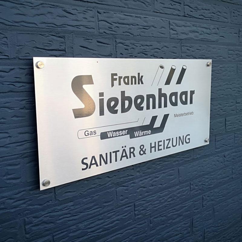 Firmenschaild-Frank-Siebenhaar-Erkelenz